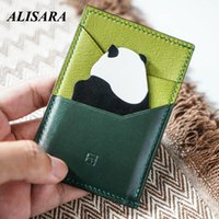 Card Holders Panda Pack Holder Driving Bag Original Design High-tech Products Art Purse Only 5 Pieces Are Produced Per Day