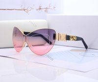 Top design Summer Womens Men charm Sunglasses Fashion Woman Sunglasses Adumbral Goggle Glasses UV400 C 4288 6 Color Highly Quality with Box