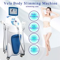 Radio Frequency RF Wrinkle Removal Face Lifting Body Slimming Machine Vacuum Therapy Roller Massager 40k Hz Cavitation