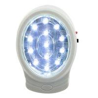 Luces de emergencia 2W 13 LED Recargable recargable Fuego de bomberos Automático Fallo de alimentación Lámpara de salida Noche 110-240V Enchufe
