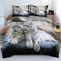 Bedding Sets Beddings 3D Custom Design Animal Quilt Cover Leopard Comforter Covers Pillow Cases 180*200cm Full Twin Double King Size