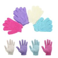 Bath For Peeling Exfoliating Mitt Glove Shower Scrub Gloves Resistance Body Massage Sponge Wash Skin Moisturizing SPA Foam