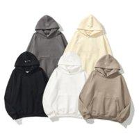 2021 Warm Hooded Hoodies Mens Womens Fashion Streetwear Pullover Sweatshirts Loose Hoodie Lovers Top Quality Brand tracksuit Leisure jacket