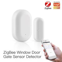 TUYA ZigBee SmartLife Wifi Smart Window and Door Gate Sensor Detektor Alarm Alarm Sicherheit Sprachsteuerung mit Alexa Google Home