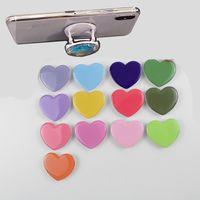 Telefone celular de 360 graus Colorful Holder para Smart Sweet Heart Expansível Stand Sockets Tablets Tablets
