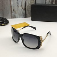 Top Original high quality Designer Sunglasses for mens womens famous fashionable Classic retro luxury brand eyeglass steampunk man uv400 glasses with box XLY EA721