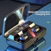 G30-1 정품 무선 블루투스 헤드셋 TWS Binaural 스포츠 인 - 귀 소음 제거 스테레오 헤드셋 5.0 DHL 빠른 배달