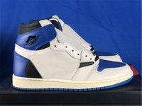 Travis Scott Fragment Authentic 1 High Og SP Outdoor-Schuhe Herren Military Blue Sb Cactus Jack Dunk PlayStation Niedriger Segel Wildleder Shy Rosa mit Original Box Sneakers
