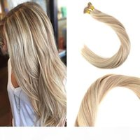 Balayage Human Cheveux I Pointe Extensions 18 613 # I Tip Fusion Prebonded Hair Extensions Stick Keratin I Tip Coiffures 100g