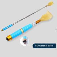 New6 Colors Famiglia Sundries Retractable Resin Back Massager Claws Care Scratch Post con perline magnetiche CCF8142