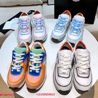 Designer Sneakers Männer und Frauen Reflektierende Freizeitschuhe Womens Trainer Party Samt Kalbsleder Mischfaser Luxus Top Qualität Sneaker 35-45