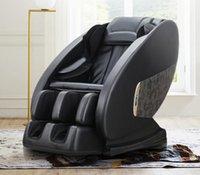 럭셔리 의자 지능형 전신 다기능 제로 중력 마사지 의자 웜우즈 압축 + 탄소 섬유 가열 Q7