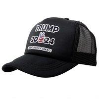 12 Stili Trump 2024 Cappello Trump Biden Summer Net Hat Hat Peak Cap USA Elezione presidenziale Berretto da baseball Cappello da baseball Cappelli da sole CCF5681