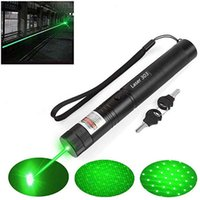 Hight Powerful Green Laser pointer 10000 m 4.5mw lasers sight Lazer pen Burning Match with lasers 303 X0524