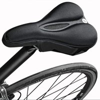 Bike Saddles Bicycle Accessories Saddle Mountain Comfort Soft Gel Pad Comfy Cushion Seat Cover Cycle Selle Velo