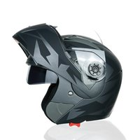 Caschi in moto Jiekai Casco Uomo Full-Cover Off-Road Double Lens A Protore di sole Viso Quattro Seasons Guida 105