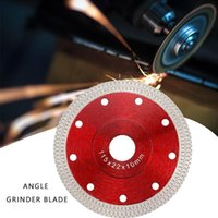 Hand & Power Tool Accessories 105 115mm 125mm Diamond Cutting Pressed Sintered Turbo Mesh Saw Dry Tile Porcelain Wet Disc Ceramic B A0B0