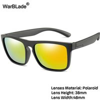 Warblade 2021 جديد الاطفال السيليكا الناعمة النظارات الاستقطاب سكوير بنين بنات ماركة النظارات الرضع uv400 breakhraproof