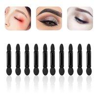 Makeup Brushes 10pcs Professional Sponge Stick Eye Shadow Applicator Cosmetic Double-head Eyeshadow Brush For Women Tools