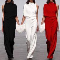 أزياء واحدة الكتف بذيلات أنيقة المرأة زائد حجم السروال القصير المرأة بذلة قصيرة الأكمام