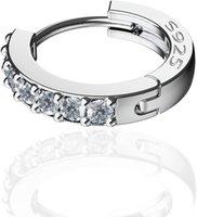 925 Sterling Silver Hoop Earrings for Women Girls
