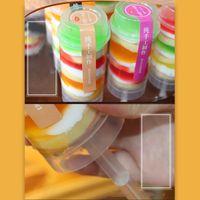 Push Up Contenitori POP Cupcake Plastic Food Grade Cake Lid Contenitore per decorazioni per feste Cottura Strumenti di forma rotonda