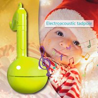 Electronic Erhu Otamatone strumento musicale Tadpole melodia bambino giocattoli educativi suono giocattoli educativi per bambini regalo Q0313
