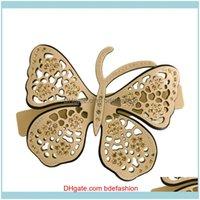 Cheveux Bijoux Barrettes Barrettes Ornement classique - Clip de papillons pour Femmes Filles Barrette Cellulose Cellulose Acétate Aessory Tresse épaisse