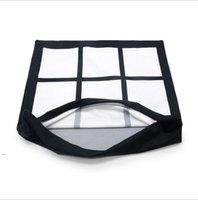 Sublimación en blanco Poliéster panel almohada caja de cojín cojín almohada para la impresión de sublimación sofá sofá sofá bricolaje en blanco funda de almohada OWF8740