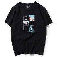 Camiseta de manga corta de manga corta de manga grande, camiseta de Kwai, código, código de verano