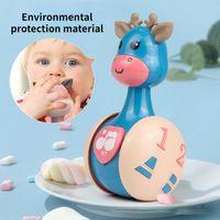 Diecast Modelo Cars Tumbler Juguete Creativo Dibujos animados Deserador de Ciervos Rátulos Divertidos Puzzle Temprano Aprendizaje Educación Regalo Para Subir Niños Bebé