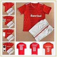 Internacional Rs Accueil Jerseys de football rouge 20 21 maillot de pied N.LOPEZ Guerrero R. Dourado Men Uniformes de football enfants personnalisés