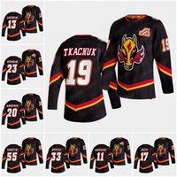 Calgary Flames 19 Matthew Tkachuk 2021 Jersey Retro Jersey Jones Johnny Johnny Gaudreau Jacob Markstrom Monahan Sam Bennett Lindholm Giordano Hockey Jerseys
