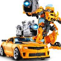 20 cm Erkek Anime Action Figure Plastik ABS Robot Araba Dönüşüm Araç Oyuncaklar Serin Dinozor Tankı Uçak Modeli Çocuk Çocuklar Hediye