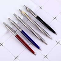 Classic Design Metal Ballpoint Pens Commercial Pen Luxury Portable Rotating Automatic Exquisite Student Teacher Writing Tool Gift