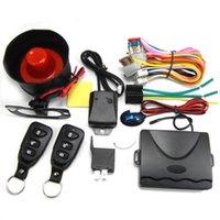 Carro de segurança do alarme Entrada Universal Auto Keyless Universal Auto com Sirene para 12V DC Veículo Fechamento da Porta Central