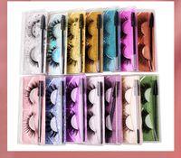 Eyelash 3D Eye makeup Mink False lashes Soft Natural Thick Fake Eyelashes Extension Beauty Tools