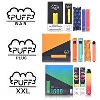 Высококачественная слойная бара плюс XXL одноразовые E-сигареты Puffbar Vape Pen ECIG стартовый комплект префитовые тележки POD устройство одноразовые ручки PK Bang XXLS