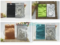 100pcs lot 8.5x13cm front matte transparent plating foil ziplock bag, color mylar phone case packing pouch resealable, pack watch black sack