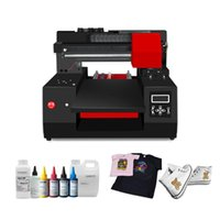 Printers FULL Automatic A3 DTG Printer T Shirt 330*600mm Printing Size For (with Two Heads) High Speed