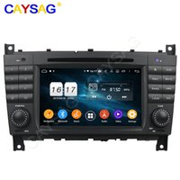 "Player Android 9.0 7 ""8core 4G 64G 2Year 보증 PX5 Mercebenz W203 C200 C230 C240 C320 C350 GPS 자동차 DVD 멀티미디어 탐색"