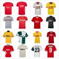 1993 1995 Barnes Rush Clough Redknapp Fowler Stewart Retro Soccer Jersey 93 94 95 Nicol McManaman Fowler Classic Football Shirt