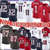 12 Tom Brady Football Jerseys 87 Rob Gronkowski 11 Julian Edelman 26 Sony Michel 10 Josh Gordon 1 Cam Newton 4 Jarrett Stidham 14 Cooks Dont'a Hightower