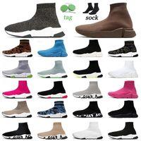 Üst Fasion Çorap Rahat Ayakkabılar 1.0 Mens Bayan Koşucu Platformu Tasarımcısı Orijinal Klasik Çorap Çizmeler Düz Taban Nefes Açık Spor Sneakers Eğitmenler Boyutu 36-45