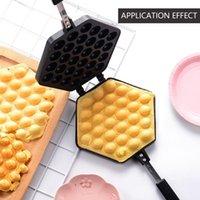 Pişirme Kalıpları Waffle Maker Pan Maşa - Çıtır Stil Yapmak Yumurta Kalıp Kek Fırın Eggette Makinesi Mini Pot Kabarcık Makineleri