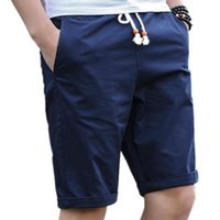 MENS LAWRENCEBLACE MARCA DE VERANO 5XL TAMAÑO HOMME MASCULINA CASUAL 979 BERMUDA Pantalones cortos de algodón de los hombres más Playa masculina