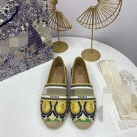 플랫폼 빈티지 Sandalluxury Espadrilles Plate-Forme Designer WomenLuxe Sandale 어부 신발 크기 35-41 문자 MJKH0002