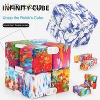 Infinity Cube Mini Toy Party Party Pare Perfer EDC Тревога Стресс Средства Рельефные Кубики Блоки Дети Дети Смешные Игрушки Лучший подарок