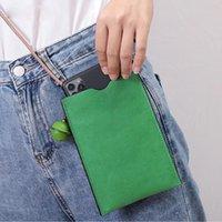 Evening Bags Genuine Leather Women Bag Mobile Phone Simple Fashion Cowhide Shoulder Mini Purse 01-GN-fsjdzp