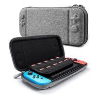 Para Nintendo Switch Console Case Durable Tarjeta de juego Almacenamiento de almacenamiento Cajas de transporte EVA Hard Eva Bag Portable Gamepad Bolsas